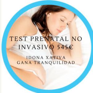 Test prenatal no invasivo iDONA básico 545 €: